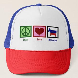 Casquette Amour Démocrate de paix