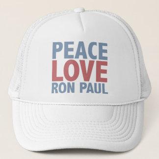 Casquette Amour Ron Paul de paix