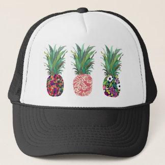 Casquette Ananas colorés