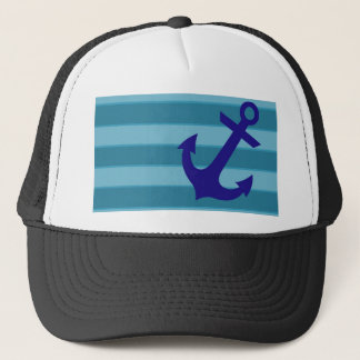 Casquette Ancre et rayures