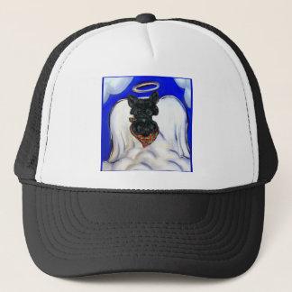 Casquette Ange noir de Terrier d'écossais