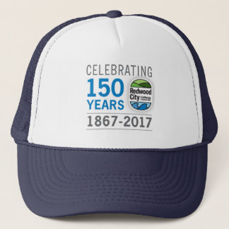 Casquette Anniversaire de Redwood City 150th