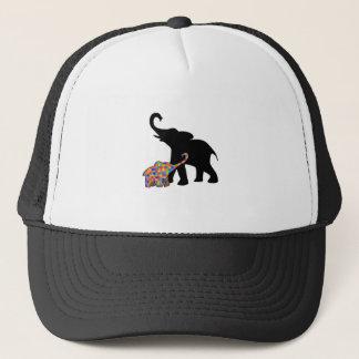 Casquette Appui de sensibilisation sur l'autisme d'éléphant