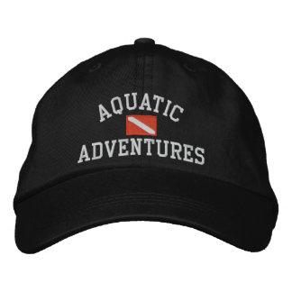 Casquette aquatique d'aventures