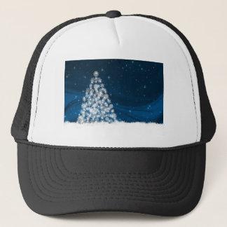 Casquette Arbre de Noël blanc de Milou de ciel bleu