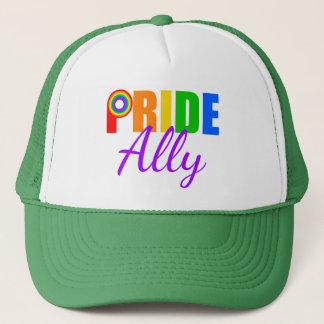 Casquette Arc-en-ciel d'allié de gay pride