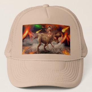 Casquette Armageddon de chat - chat de dinosaure - mauvais