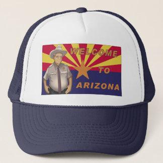 Casquette Arpaio : Accueil vers l'Arizona