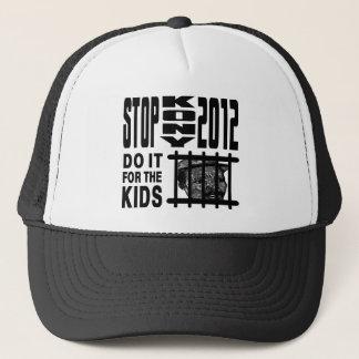 Casquette Arrêt Kony 2012 - faites-le pour les ENFANTS