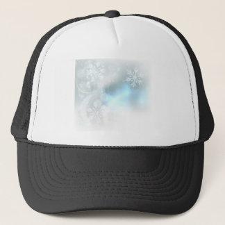Casquette Arrière - plan de cristaux de glace de flocons de
