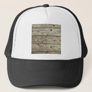 Casquette arrière - plan en bois