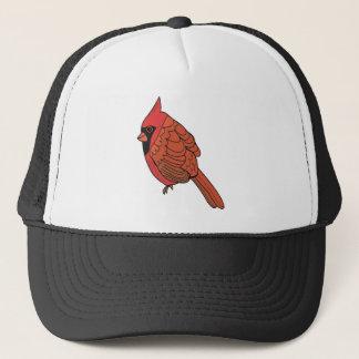 Casquette Art cardinal d'oiseau