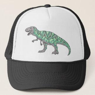 Casquette Art illustré par griffonnage de dinosaure de T-Rex