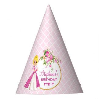 Casquette assez blond de fête d'anniversaire de chapeaux de fètes