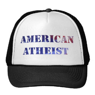 Casquette athée américain de camionneur
