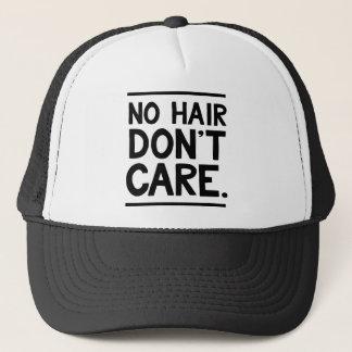 Casquette Aucun cheveu ne s'inquiètent l'habillement