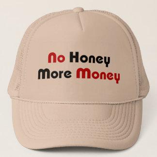 Casquette Aucun miel plus d'argent