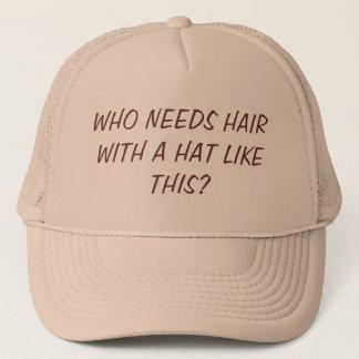 Casquette Aucuns cheveux/casquette intéressant
