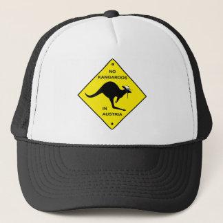 Casquette Aucuns kangourous en Autriche !