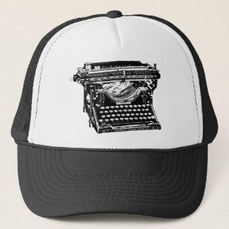 Casquette Auteur de machine à écrire de sous-bois