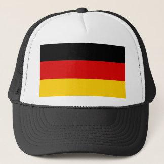Casquette avec le drapeau de l'Allemagne