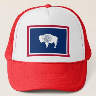 Casquette avec le drapeau de l'état du Wyoming -