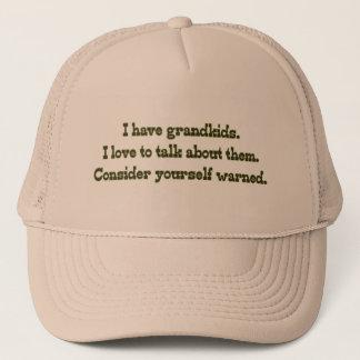 Casquette Avertissement des grands-parents