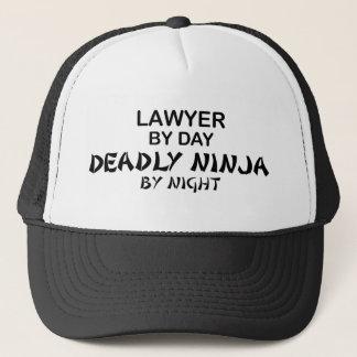 Casquette Avocat Ninja mortel par nuit