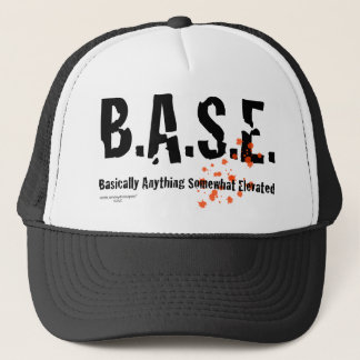 Casquette B.A.S.E. Parachutiste sautant