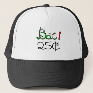 Casquette Baci (baisers) 25 cents