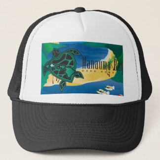 Casquette Baie de Hanauma d'îles d'Hawaï