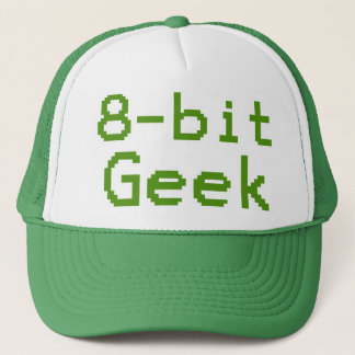 Casquette ballot humoristique de geek à 8 bits
