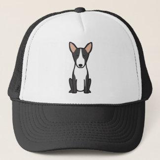 Casquette Bande dessinée de chien de bull-terrier