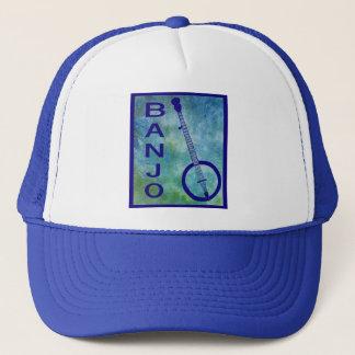 Casquette Banjo sur le bleu