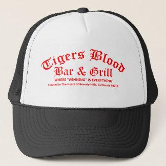 Casquette Barre et gril de sang de tigres