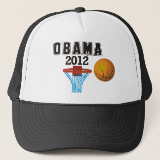 Casquette basket-ball 2012 d'obama