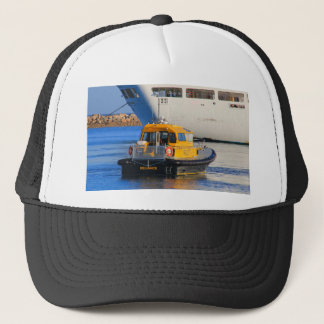 Casquette Bateau de croisière de bateau pilote et