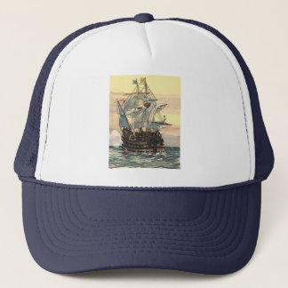 Casquette Bateau de pirate vintage, navigation de galion sur