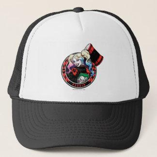 Casquette Batman | Harley Quinn clignant de l'oeil avec le