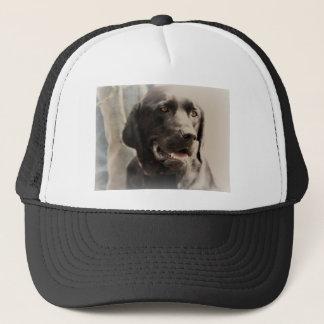 Casquette Beau portrait noir de labrador retriever