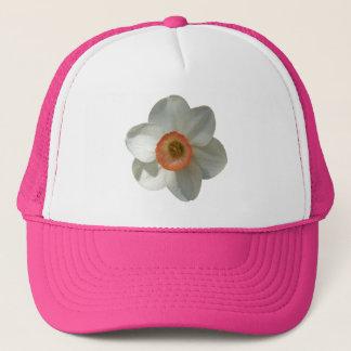 Casquette Belle fleur de ressort de jonquille rose