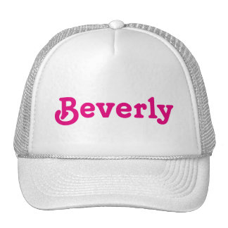 Casquette Beverly