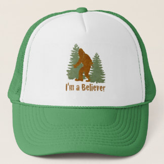 Casquette Bigfoot - je suis un croyant