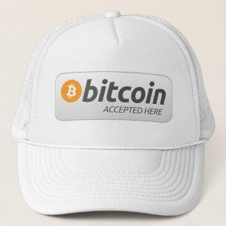 Casquette Bitcoin - admis ici
