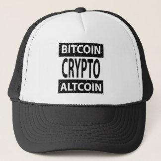 Casquette Bitcoin Altcoin crypto