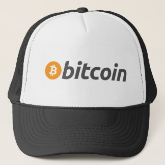 Casquette Bitcoin logo écriture