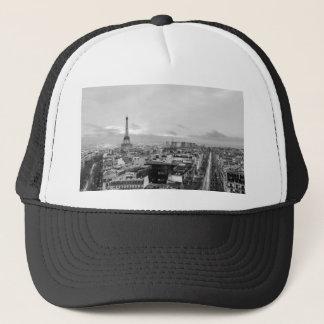 Casquette Black&White: Eiffel Tower, Paris, France