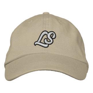 Casquette blanc de papa de logo de LooseSquares