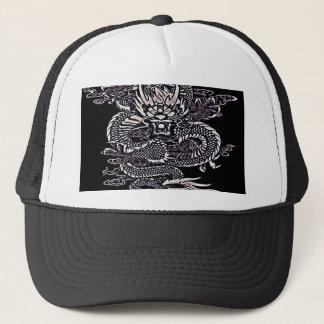 Casquette Blanc épique de dragon