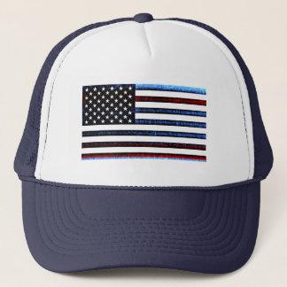 Casquette bleu blanc rouge patriotique de drapeau